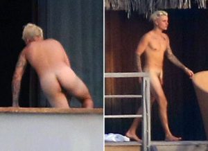 Justin Bieber Full Frontal Nude