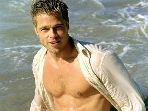 New Brad Pitt Shirtless