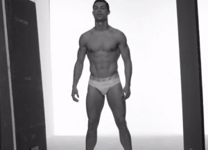 Soccer Player Cristiano Ronaldo Naked