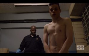 Rami Malek Naked in Mr Robot