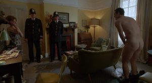 Luke Evans Naked in The Great Train Robbery