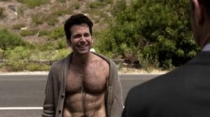 Eion Bailey Shirtless and Hairy September
