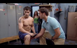 Michael Lombardi Shirtless On Rescue Me