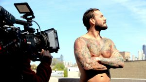 CM Punk Shirtless And Tattooed