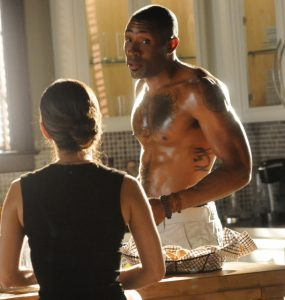 Shirtless Cress Williams in Hart of Dixie