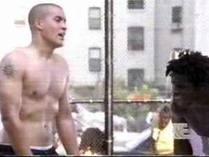 Shirtless Coby Bell