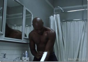 Shirtless Morris Chestnut