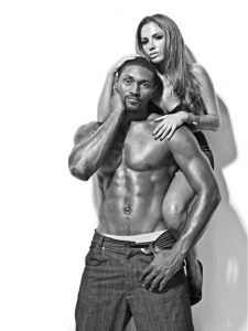 NBA Star Ron Artest Shirtless