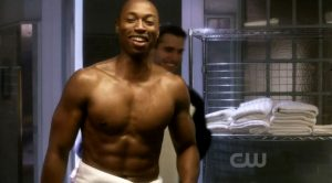 Shirtless Robbie Jones from Hellcats